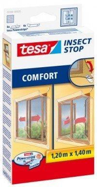Síť proti hmyzu na posuvná okna COMFORT, bílá, 1,2m x 1,4m
