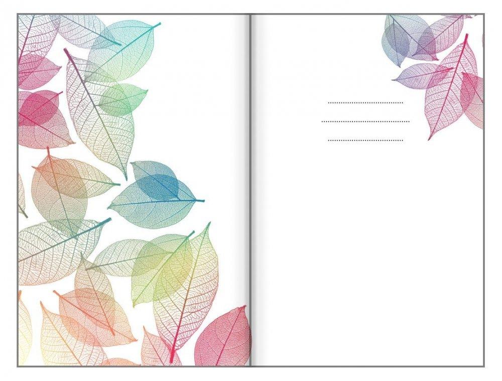 Bodkovaný zápisník, neónové listy, 100 x 140 mm