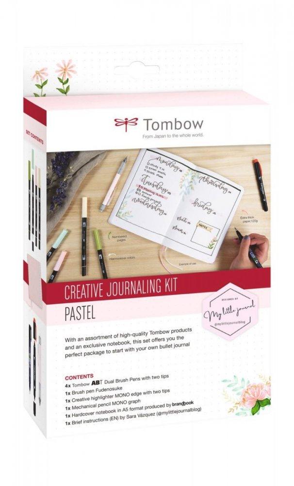 Kreatívny Bullet Journal set Pastel