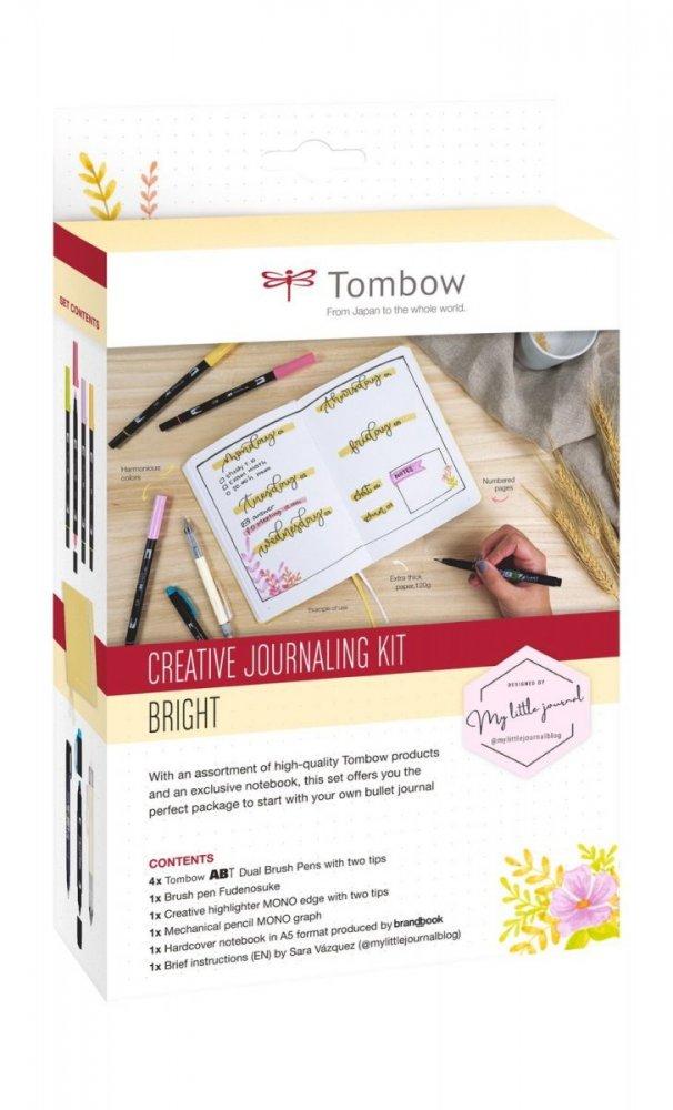 Tombow Kreatívny Bullet Journal set Bright