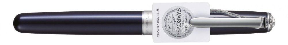 Rollerball Havanna SW, s kryštálmi Swarovski®, námornícka modrá, tuha 0,5 mm čierna