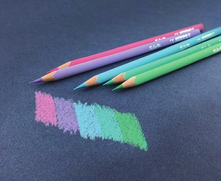 Kolores PASTEL trojhranné pastelky, 3 mm / 24 farieb