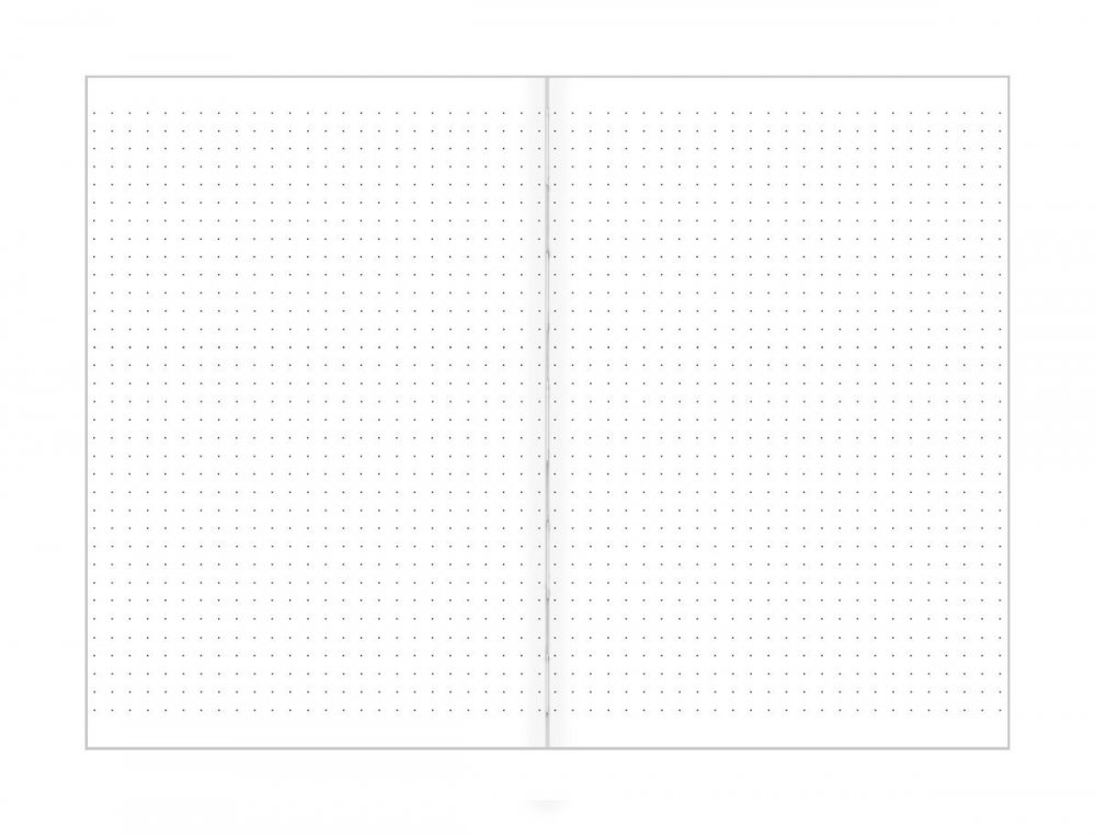 Bodkovaný zápisník, starnúca rozprávka, 195 x 135 mm