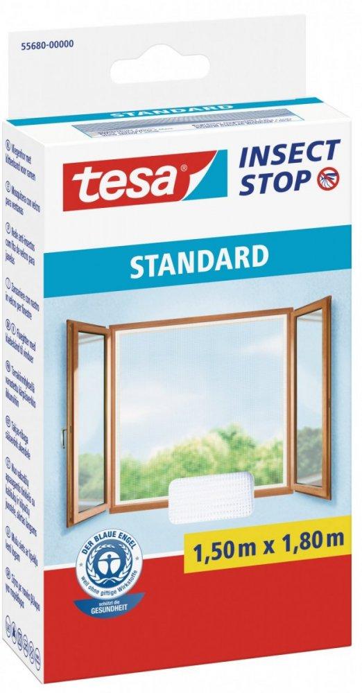 Síť proti hmyzu STANDARD, na okno, bílá, 1,5m x 1,8m