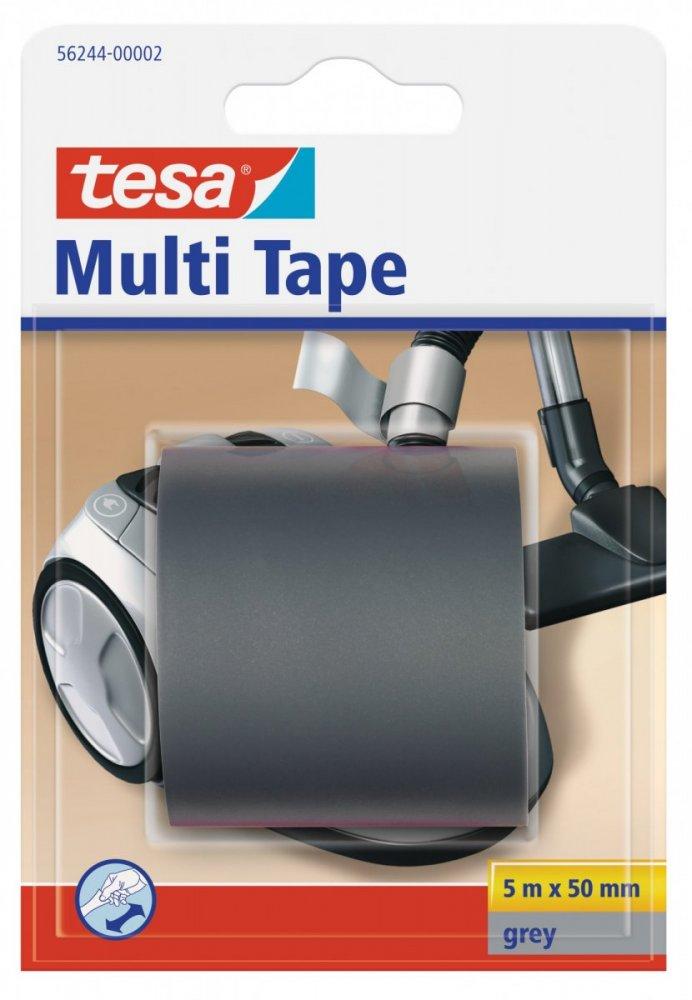 Multitape, univerzální opravná PVC páska, šedá, 5m x 50mm