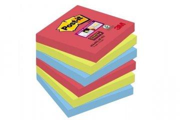 Silně lepicí bloček 654, 76x76, 6 bločků á 90 l, kolekce BORA BORA