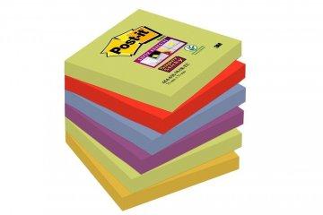 Silno lepiaci bloček 654, 76x76, 6 bločkov á 90 l, kolekcia MARRAKESH