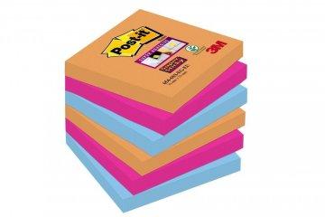 Silno lepiaci bloček 654, 76x76, 6 bločkov á 90 l, kolekcia BANGKOK