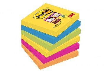 Silno lepiaci bloček 654, 76x76, 6 bločkov á 90 l, kolekcia RIO