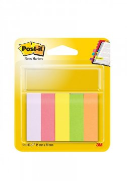 Bloček značkovací Post-it 15x50 5 x 100l