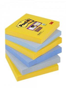 Silno lepiaci bloček 654, 76x76, 6 bločkov á 90 l, kolekcia NEW YORK