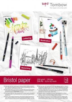 Kresliaci blok Bristol A5