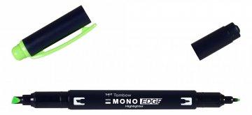 Zvýrazňovač MONO edge, green